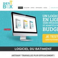 DEVIBOX est une application informatique de bâtiment