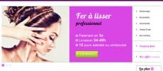 Vente en ligne d'articles pour les cheveux