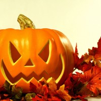 La nuit d'Halloween costumée