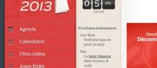 Téléchargez et imprimez vos calendriers 2013