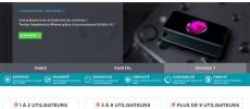 Paritel, services de téléphonie fixe et mobile