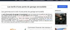 Concrétisez vos projets d'achat de porte de garage enroulable sur portegarageenroulable.com