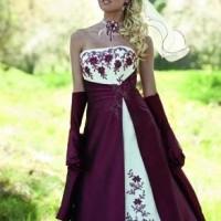 couleur des robes de mariées varie suivant le choix et les désirs de ...